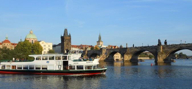 Boat trip - Charles bridge