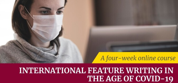 International Feature Writing a four-week online course